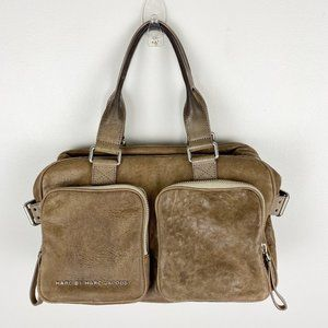 Marc By Marc Jacobs Brown Lamb Leather Purse